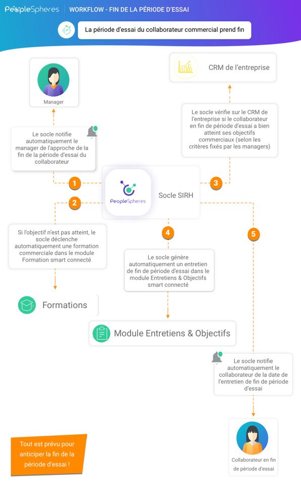 Workflow - infographie Fin de la période dessai
